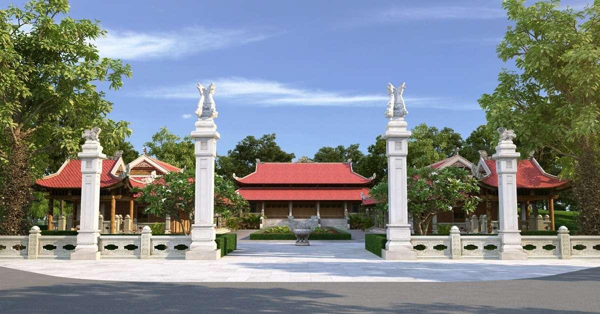 Tịnh xá được thiết kế và xây dựng dựa trên kiến trúc Phật giáo thời nhà Lý là một trong những điểm nhấn tại Sala Garden.
