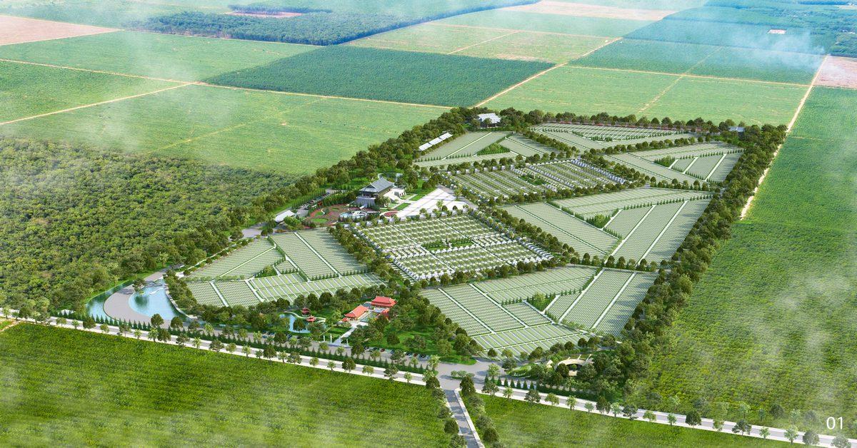 Tiềm năng sinh lợi cao khi đầu tư bất động sản nghĩa trang gần Tp.HCM