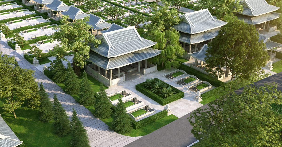 Xây dựng mộ gia tộc, nhà thờ họ là một trong những phong tục đặc sắc của Việt Nam