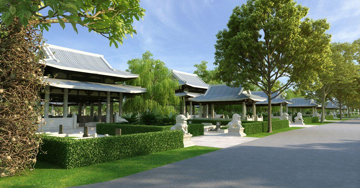 Mô hình công viên nghĩa trang sinh thái Sala Garden