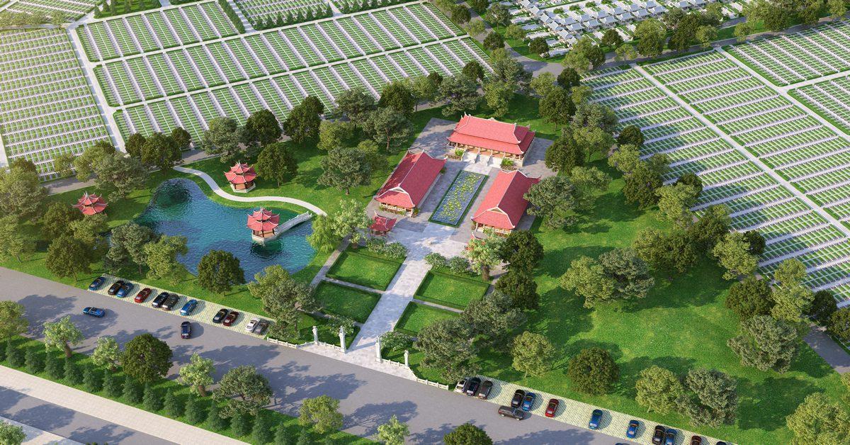 Sala Garden tiên phong xây dựng hoa viên nghĩa trang cao cấp