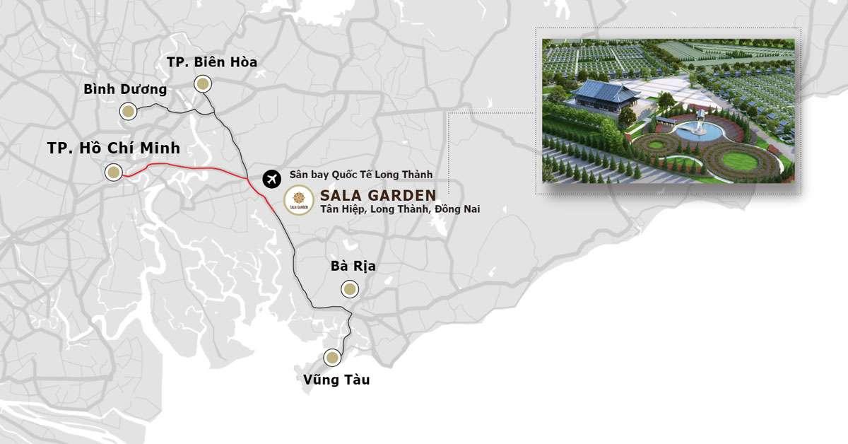 Hoa viên nghĩa trang sinh thái liền kề trung tâm TP. Hồ Chí Minh