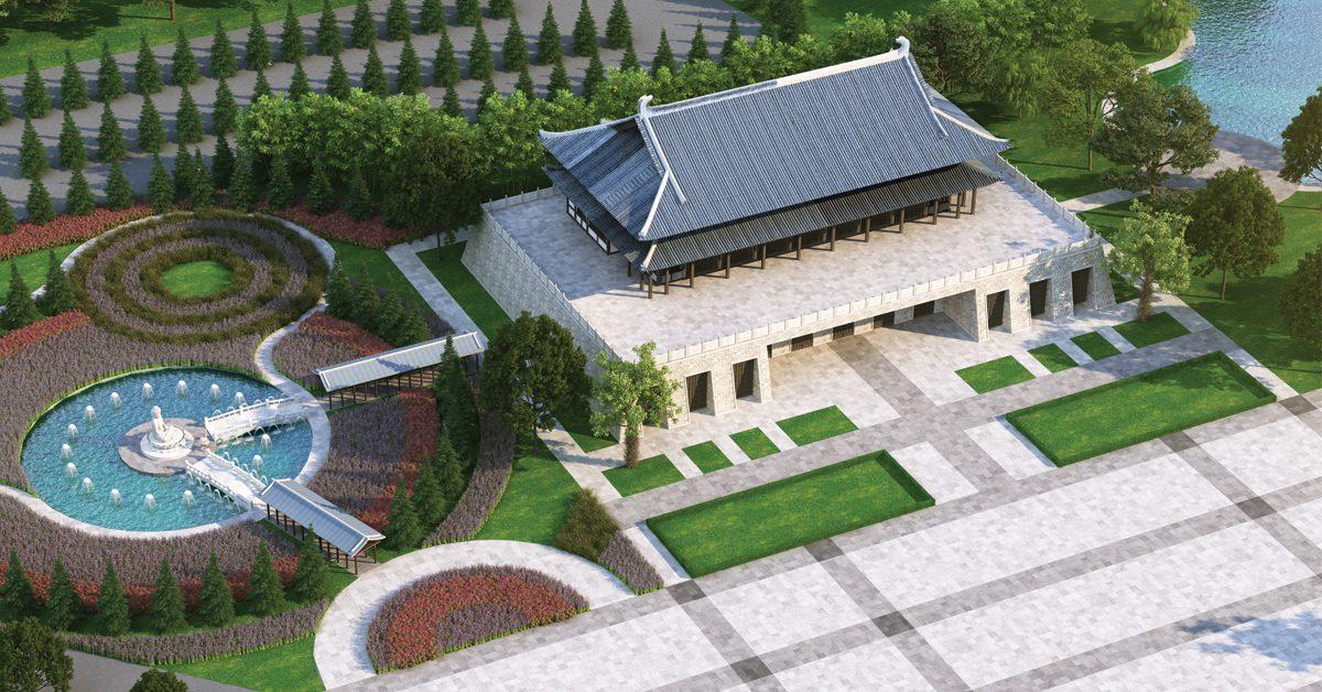 Ba điểm nhấn tạo nên mô hình hoa viên nghĩa trang Sala Garden