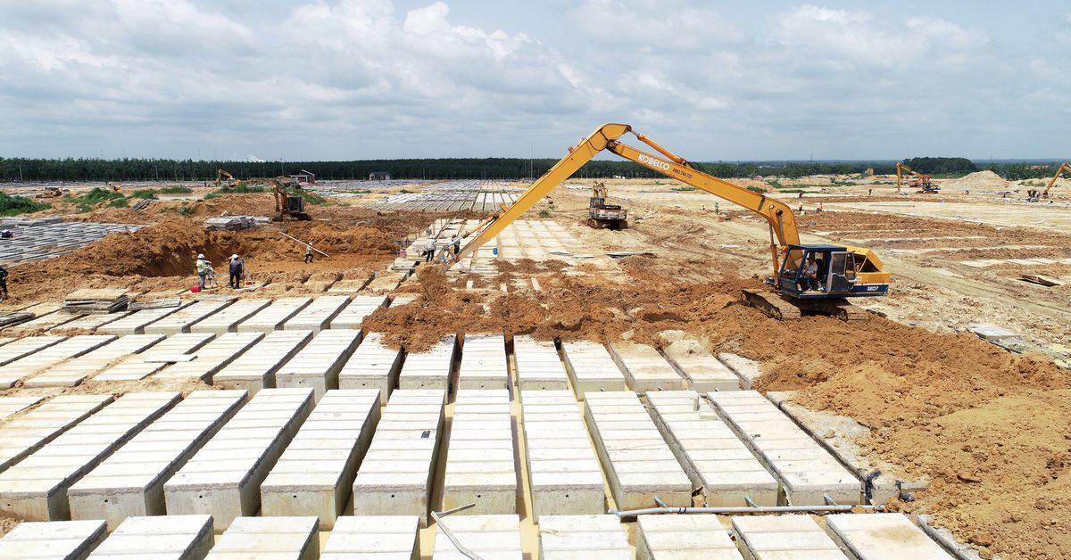 Tiến độ xây dựng Sala Garden tháng 05-2018