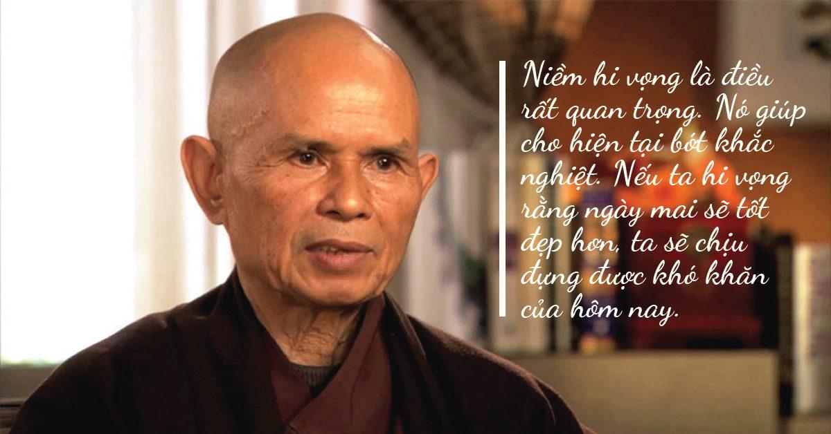 Những câu nói hay của thiền sư Thích Nhất Hạnh giúp bạn đến gần với hạnh phúc hơn