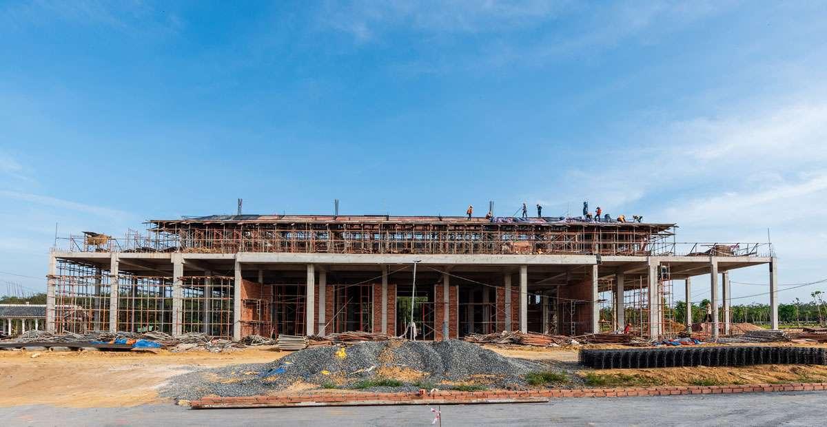 Hình ảnh tiến độ dự án hoa viên nghĩa trang cao cấp Sala Garden tháng 01-2019