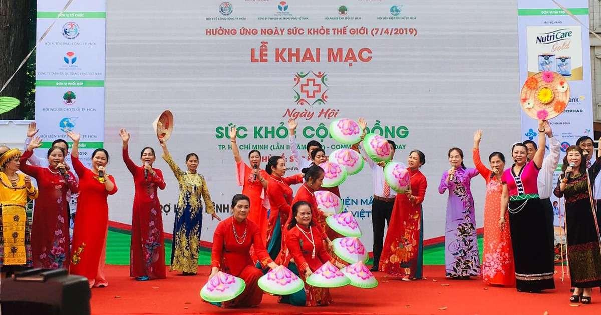Ngày hội sức khỏe người cao tuổi thành phố Hồ Chí Minh