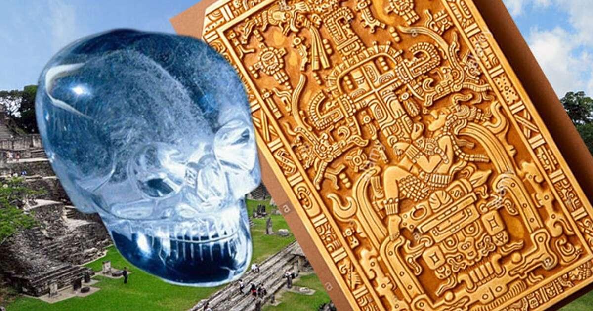Bí ẩn hộp sọ pha lê và bức phù điêu khắc họa phi hành gia của người Maya cổ đại