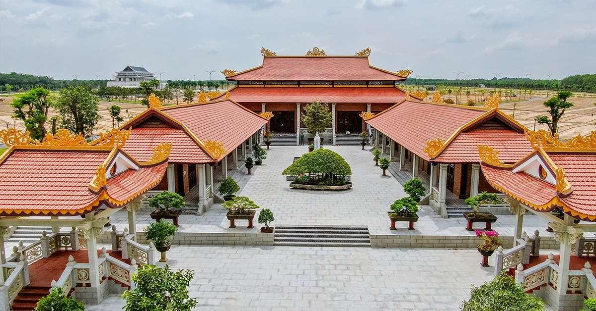 Thiền viện tại Sala Garden