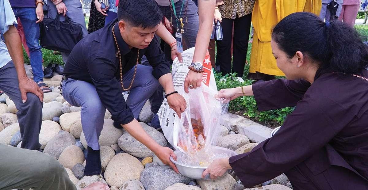 Sala Garden tổ chức lễ phóng sanh mùa Vu Lan