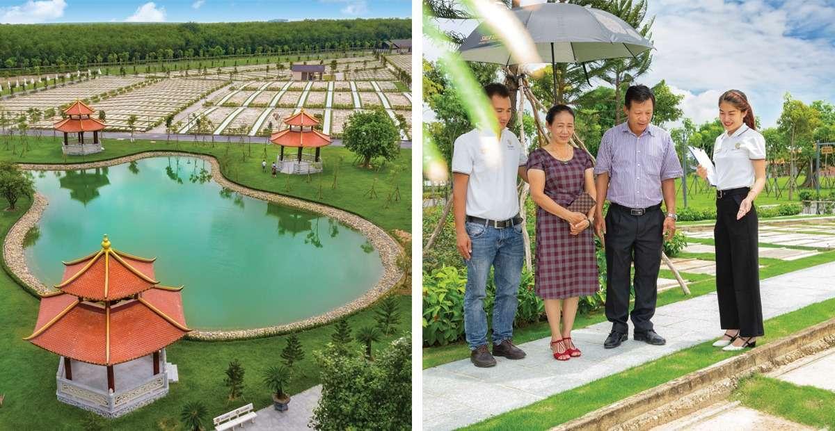 Sala Garden kiến tạo nên mô hình hoa viên nghĩa trang mang tinh thần văn hóa dân tộc với chất lượng quốc tế