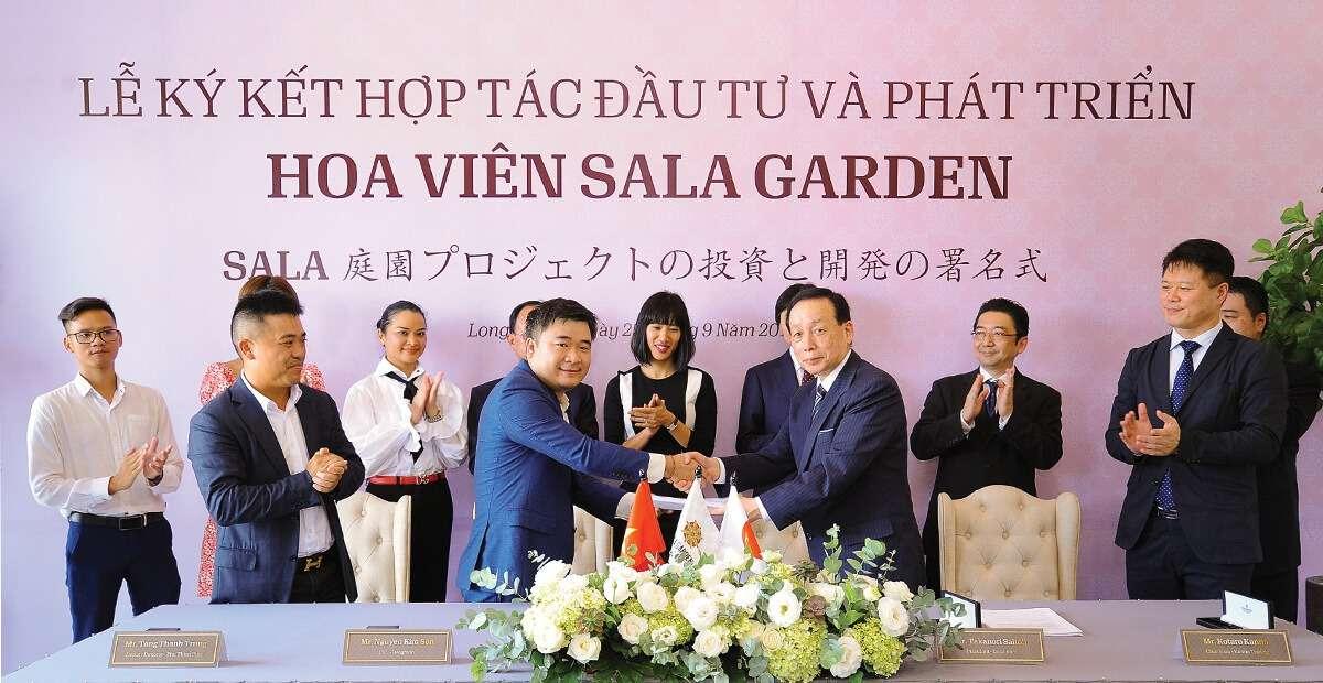 Lễ Ký kết đầu tư và hợp tác phát triển hoa viên Sala Garden