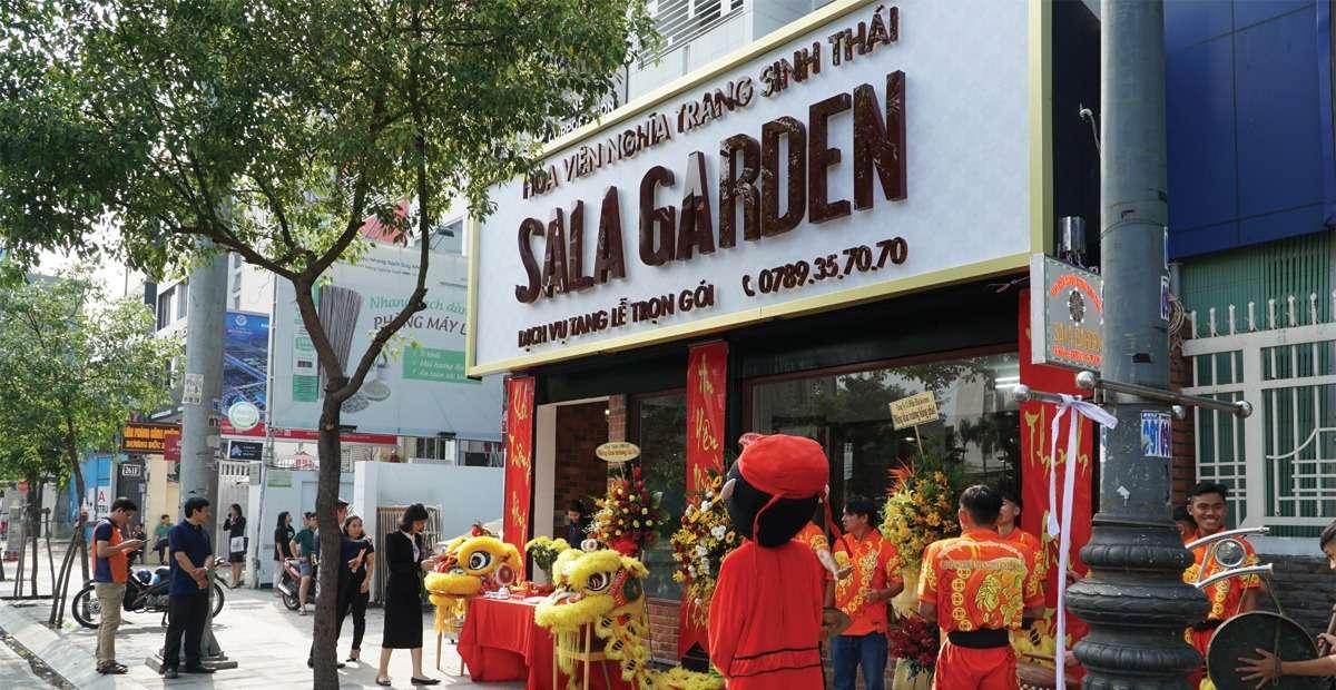 Sala Garden khai trương văn phòng giao dịch và cung cấp dịch vụ tang lễ trọn gói ngay trung tâm Quận Phú Nhuận