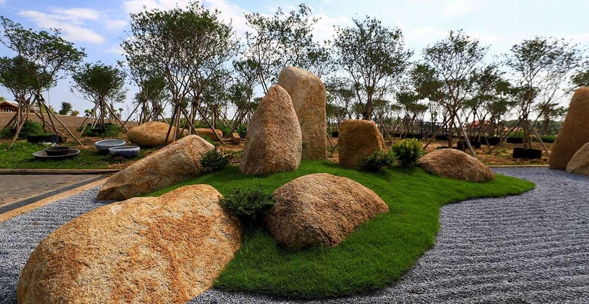 Toàn cảnh tạo hình vườn nhật tại Sala Garden