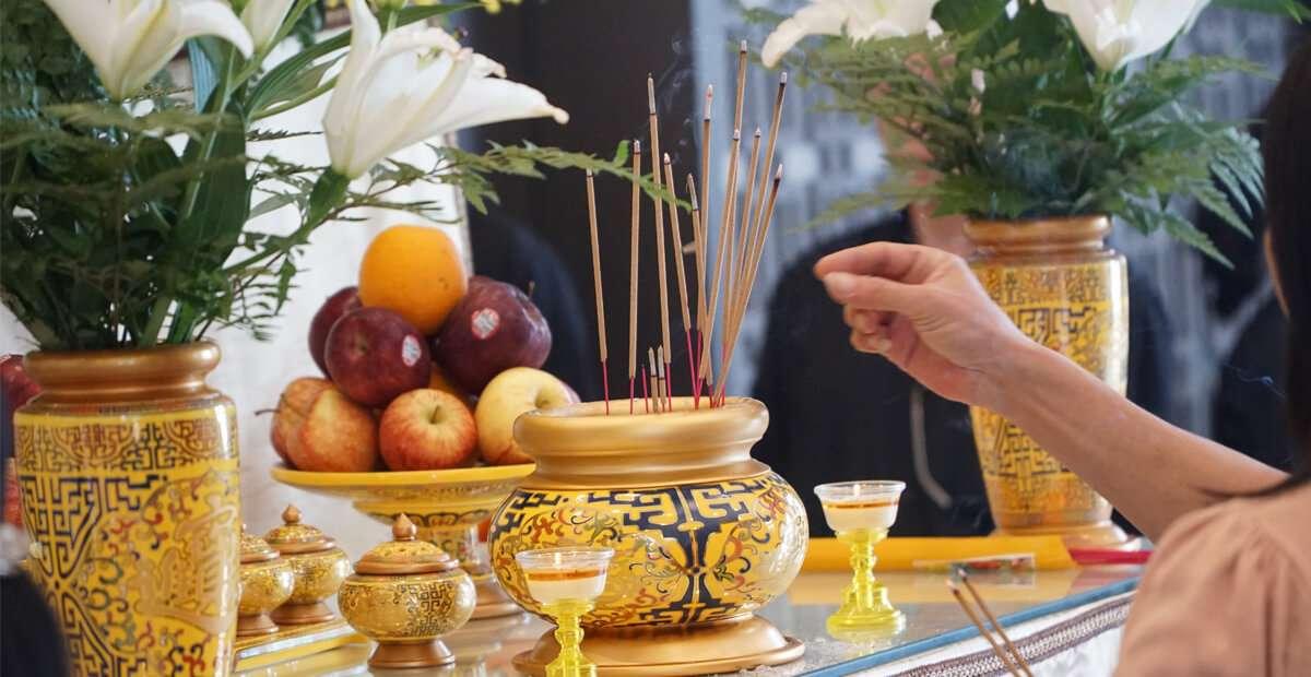 Tổ chức tang lễ tại chung cư
