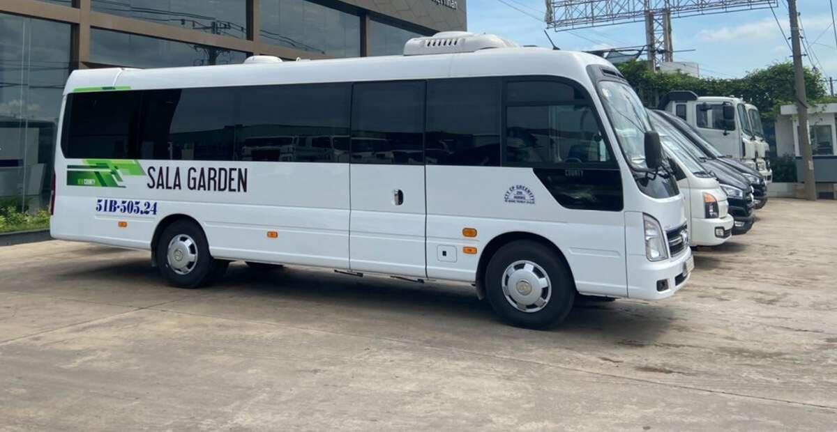 Khai trương tuyến xe bus từ Hồ Chí Minh đến Sala Garden phục vụ việc thăm viếng mộ phần
