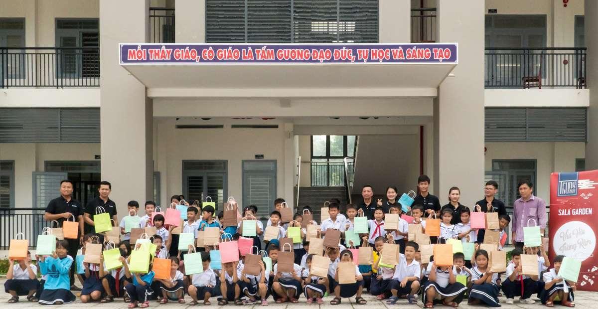 Hành trình mang trung thu đến với trẻ em nghèo trên địa bàn huyện Long Thành