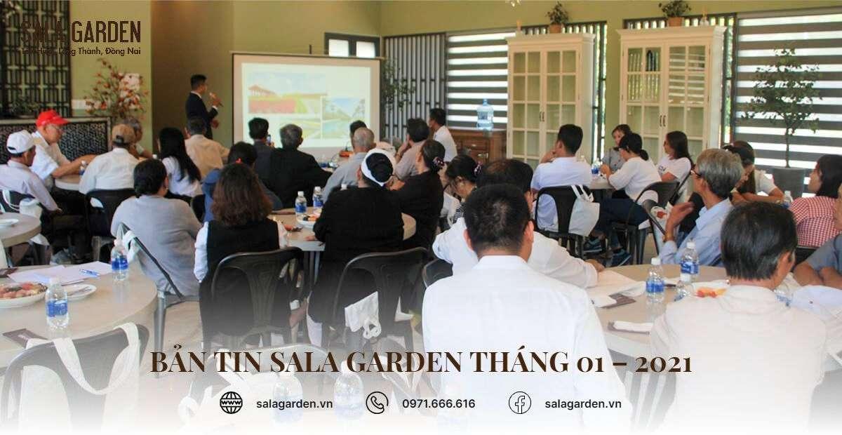 Bản tin sala garden tháng 01 – 2021