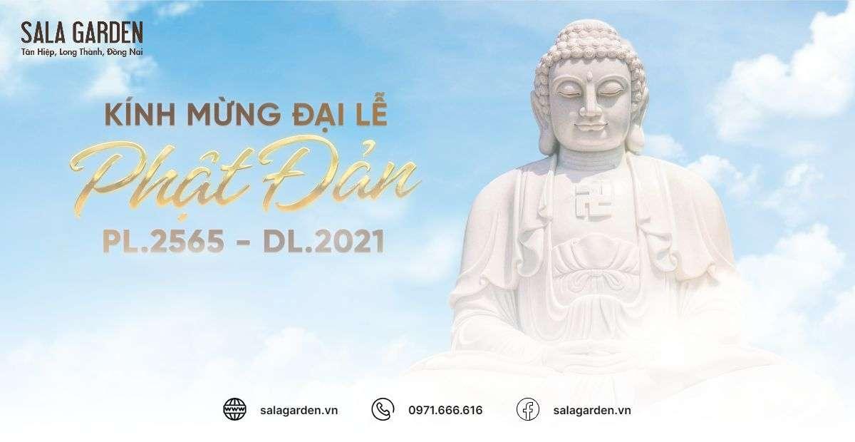 Hoa viên nghĩa trang Sala Garden đón mùa lễ Phật Đản an lành giữa làn sóng dịch COVID-19